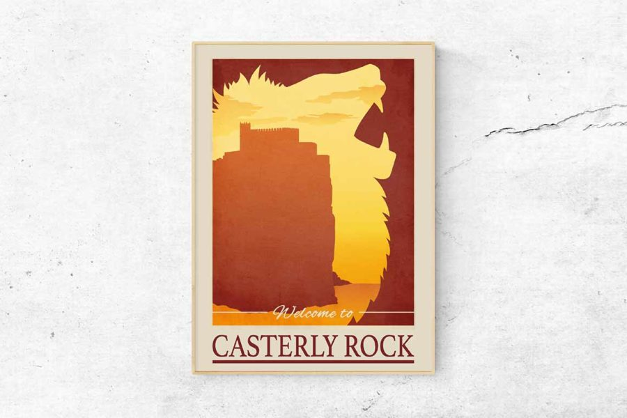 """Poster """"Casterly Rock"""""""