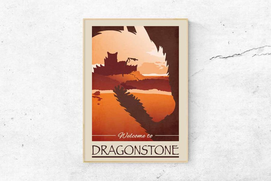 "Poster ""Dragonstone"""