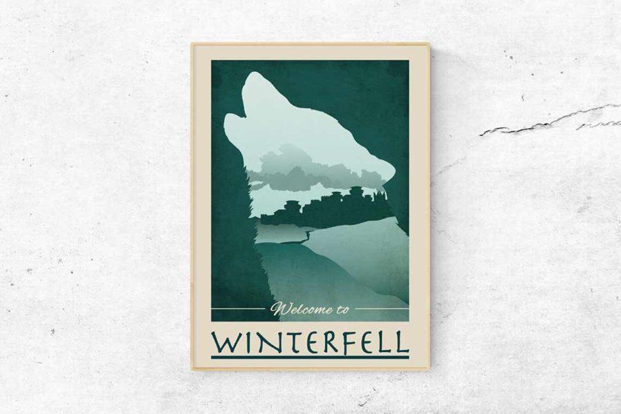 "Poster ""Winterfell"""