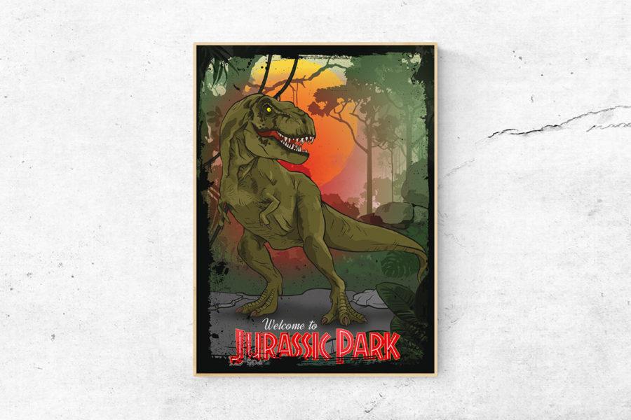 """Fanart-Poster """"Jurassic Park"""""""