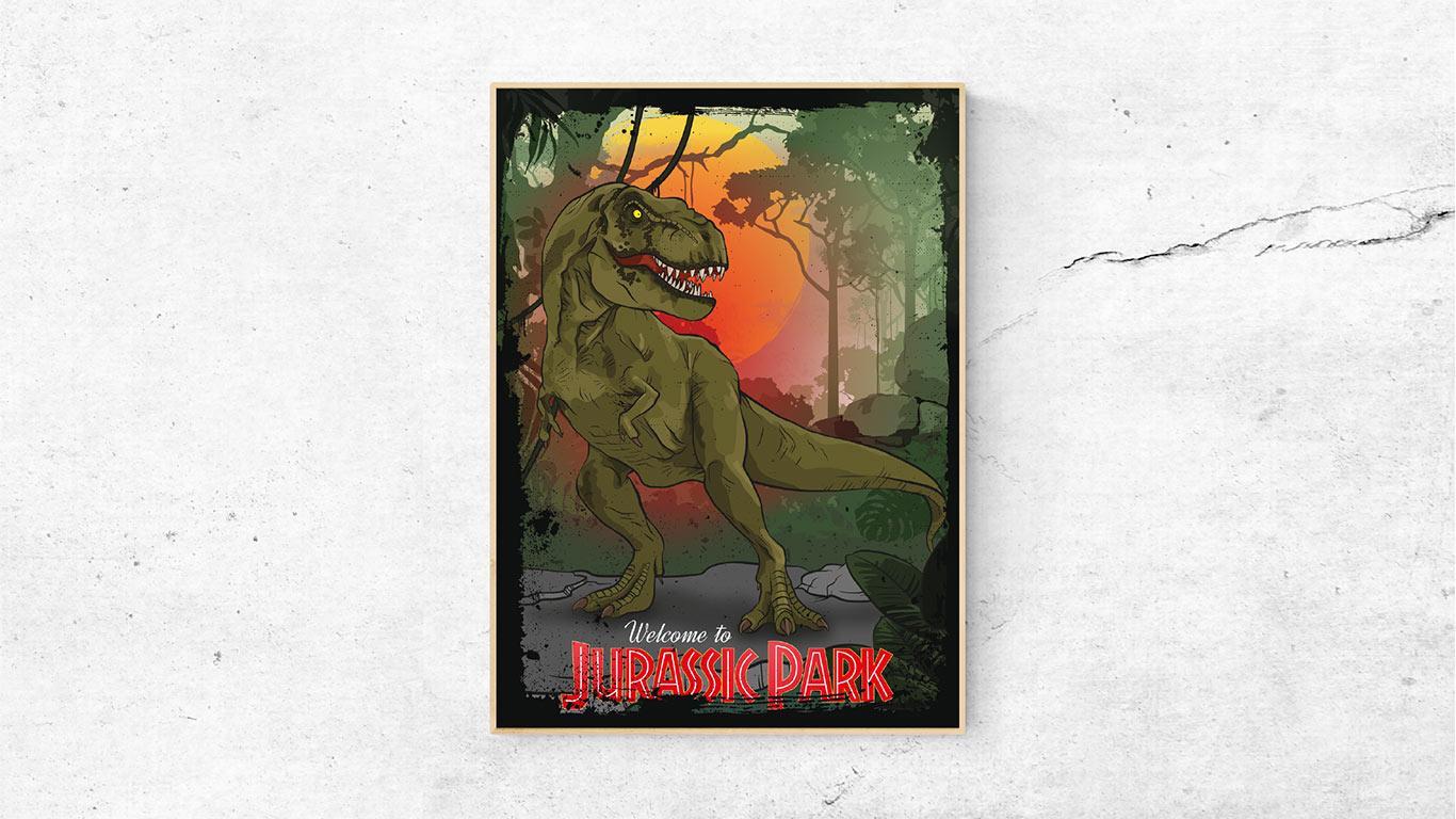 """Filmposter """"Jurassic Park"""""""