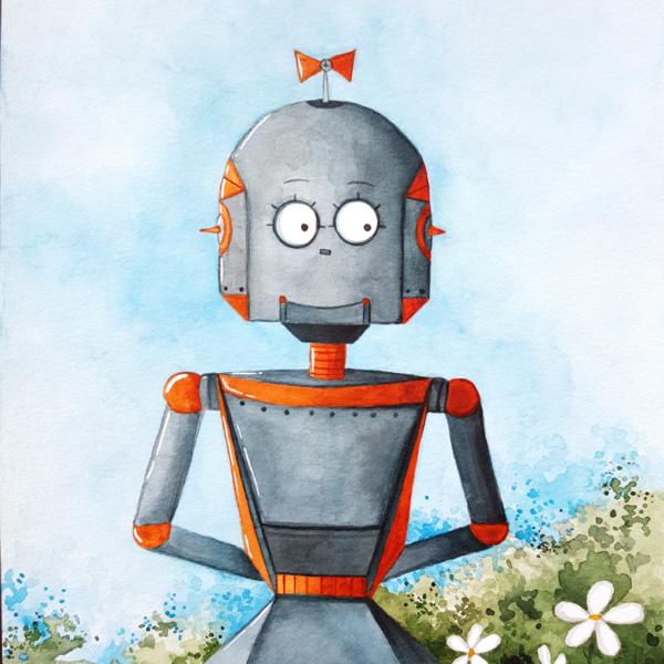 """""""ROBOT LOVE 2"""""""